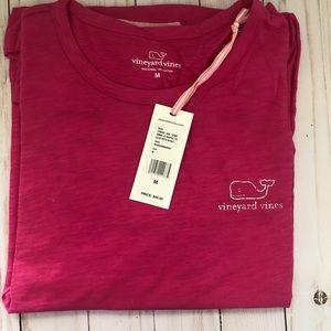 Vineyard Vines Long Sleeve Whale Print Tee Women